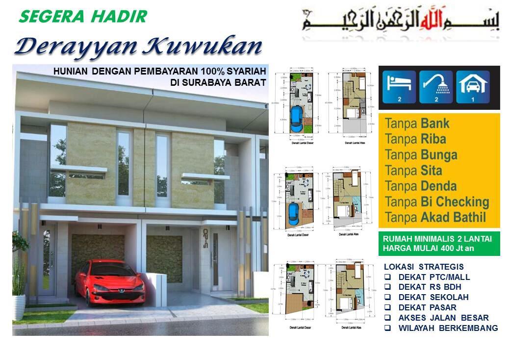 Rumah Murah Kuwukan Surabaya Barat